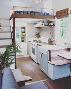 I love every detail of this Handcrafted Movement tiny house. Amazing work!