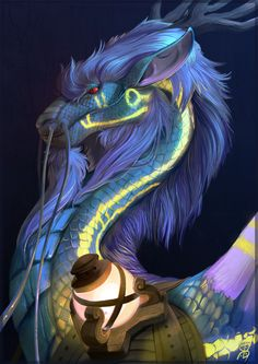 Beautyful Blue Dragon ( Yêle Pálar Khraóga )