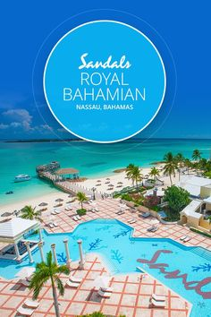 The Sandals Royal Bahamian is one of the best all-inclusive resorts in Nassau Bahamas and features its own private offshore island. Book your getaway today! Bahamas Vacation All Inclusive, Best Bahamas Resorts, Bahamas Honeymoon, Best All Inclusive Resorts, Bahamas Trip, Vacation Places, Vacation Trips, Vacation Spots, Vacation Ideas