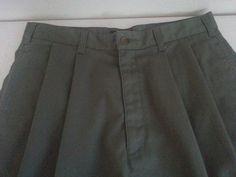 DOCKERS Khakis Men's Casual Shorts Size 32 Green Solid Pleated 100% Cotton EUC #DOCKERS #CasualShorts #ebay #DOCKERS #CasualShorts #Shorts32Green