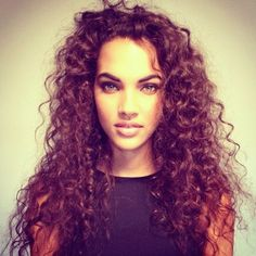 "Curly hair inspiration. Ladies never forget you are ""bea -YOU -tiful."" Follow us now on Pinterest: @autumnblazesing"