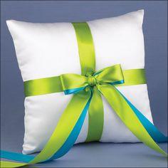 Ring Bearer Pillow - Custom Color - White