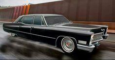 1967 Cadillac Fleetwood Series 75 car that fit originally 9 passenger!