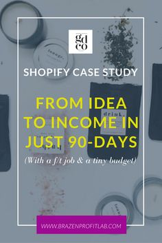 Discover how one ordinary woman went from idea to income in this detailed and in-depth Shopify case study. Check it out!