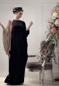 Beautiful elegant abaya