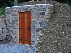 Root Cellar Project - Door finished and backfill complete | Flickr - Photo Sharing!