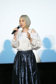 Read our report from the the premiere of Fairy Tail -Dragon Cry- that took place at TOHO cinemas Shinjuku on 6 May Aya Hirano, Voice Actor, Fairy Tail, The Voice, Crying, Lace Skirt, Tulle, Cosplay, Actors