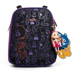 64f92ad8f57 Delune 2018 New Cartoon School Bags Backpack for Girls Boys Bear Pattern  Children Orthopedic Backpack Mochila Infantil Grade 1-5