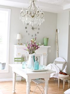 Shabby chic office decor 29 decorating ideas in shabby chic office ...