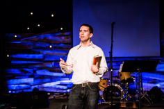 "Tom Nash speaking at Ice Camp.  ""Roots"" 2014  photo by//Chris Hecox"