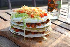 Tortilla taart - Nog 37 dagen tot mijn verjaardag!