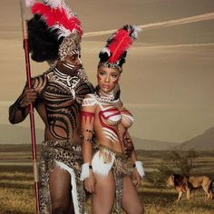 Wildtribe culture Book a couples shoot with fernello 🔥 Body paint Fernello De. - Wildtribe culture Book a couples shoot with fernello 🔥 Body paint Fernello De… - Black Love Art, Beautiful Black Women, African Tribes, African Art, Brust Tattoo, Black Artwork, African Culture, African Beauty, Couple Shoot