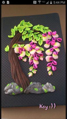Tree of life. Clay