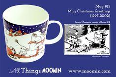 15 Moomin mug Christmas greetings
