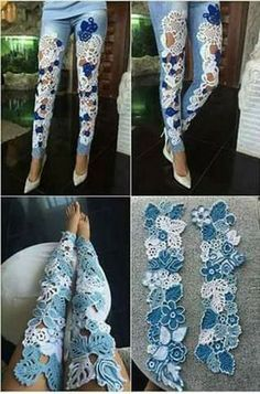 New diy clothes jeans refashioning Ideas - Best Sewing Tips Diy Clothes Jeans, Diy Jeans, Diy Clothing, Sewing Clothes, Simple Clothing, Jeans Fit, Doll Clothes, Skinny Jeans, Denim Fashion