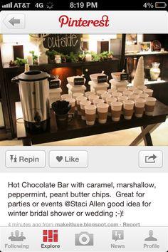 Cocoa bar!