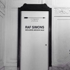 Men's Fashion - Raf Simons