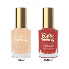 "Ruby Wing Color Changing Nail Polish ""Sandy Shore"""