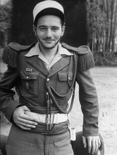 An unidentified German in the French Foreign Legion in Saigon