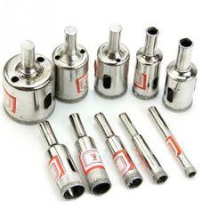 $8.39 (Buy here: https://alitems.com/g/1e8d114494ebda23ff8b16525dc3e8/?i=5&ulp=https%3A%2F%2Fwww.aliexpress.com%2Fitem%2FHot-10-Kinds-Diamond-Drill-Bits-Coated-Galvanized-Hole-Drill-Bit-Set-Tools-For-Tiles-Marble%2F32416541039.html ) Hot 10 Kinds Diamond Drill Bits Coated Galvanized Hole Drill Bit Set Tools For Tiles Marble Glass for just $8.39