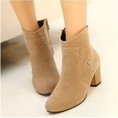 2013 Autumn Fashion Thick With Leather Shoes