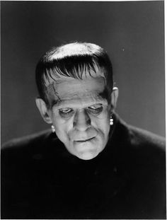 "This is the Monster photo that was used for the stamps in It's from ""Frankenstein"" Monster Horror Movies, Classic Monster Movies, Horror Monsters, Classic Horror Movies, Classic Monsters, Boris Karloff Frankenstein, Frankenstein 1931, Mary Shelley Frankenstein, Cool Monsters"