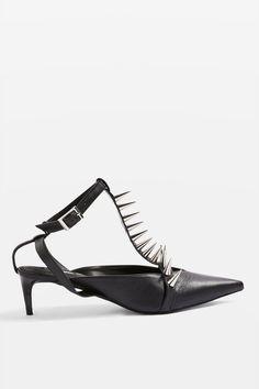 c3dd3158efa JINX Studded Pointed Shoes - Heels - Shoes - Topshop Europe Ανεπίσημο  Επαγγελματικό, Μόδα Για