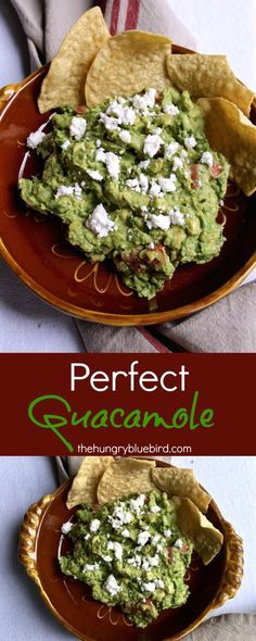 Perfect rendition of classic guacamole