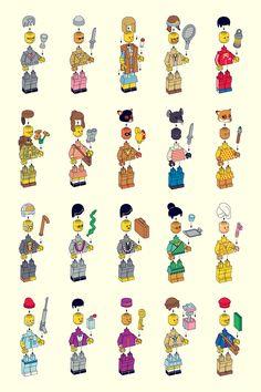 LEGO Wes Anderson :O