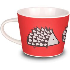 Scion Spike Mini Mug - Red ($12) ❤ liked on Polyvore featuring home, kitchen & dining, drinkware, kitchen, cup, accessories, cozinha, filler, red and mini red cups