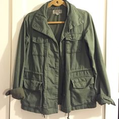 Urban Outfitters Cargo Jacket Great cargo jacket for in between weather - lightly worn. Urban Outfitters Jackets & Coats Utility Jackets