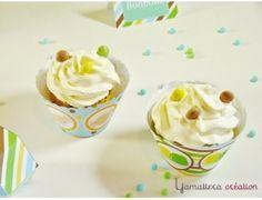 Décoration pour cupcake { Kit Candy pour garçon }