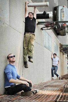 Optische Täuschungen als Mittel der Fotografie_China.org.cn