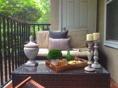 designing small patios | SMALL CONDO PATIO MAKEOVER - THE REVEAL - BluLabel Bungalow | Interior ...