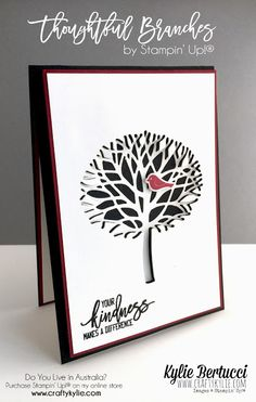 Stampin' Up! Australia: Kylie Bertucci Independent Demonstrator: Mediterranean Achievers Blog Hop - Thoughtful Branches Bundle