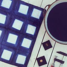 #Shibori  El arte del bloqueo! #Indigo #TintesNaturales *** #Shibori The Art of Resistance #Indigo #NaturalDyes