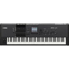 Yamaha MOTIF XF8 88-Key Music Production Synthesizer. I want this.