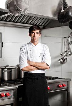 "Sergio Barroso: Hot Chef (Restaurant ""Alegre"" at Palacio Astoreca Hotel), Cool City (Valparaíso, Chile)   Time (Style) - February 21, 2013"