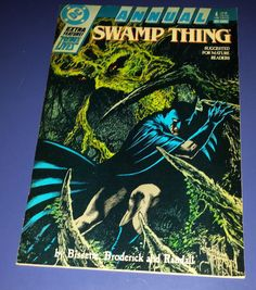 Swamp Thing (1988) Annual #4 Guest Appearance by Batman DC Comics MATURE READERS