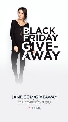 Jane.com Black Friday #Giveaway - 10 Winners Each Receive a $100 Jane Gift Card!