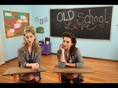 Megan and Liz - Old School Love   The music video may be lame but they tell it how it is!