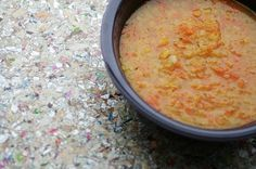 Carrot Lentil Soup. Made Nov 3.12 So hearty, so delicious & simple. Will make again. Hubby loved it too.