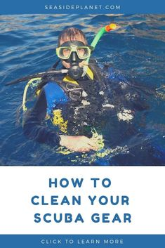 Are you wondering how to clean scuba gear? Well wonder no longer because we\'ve got all the facts that every diver needs to know! Scuba Diving Equipment, Scuba Diving Gear, Cave Diving, Scuba Gear For Sale, Scuba Diving Certification, Maui Vacation, Big Island Hawaii, Great Barrier Reef, Riviera Maya