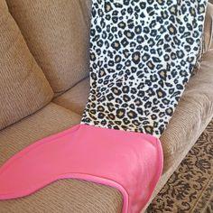 Cheetah/Leopard print Mermaid Tail is here!