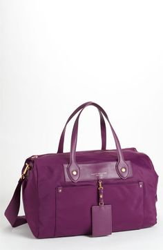 MARC BY MARC JACOBS 'Preppy Nylon - Pearl' Duffel Bag | Nordstrom