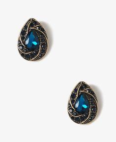 Midnight Teardrop Earrings | FOREVER21 - 1021081540
