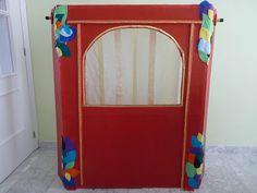 Las Cositas de Marga: Cómo hacer un teatro de títeres con material reciclado.