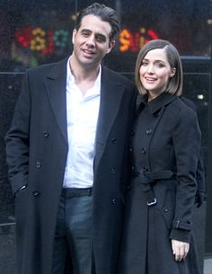 His Byrne-in' Love - Real-life loves Bobby Cannavale and Rose Byrne talked up their roles in Annie on Good Morning America in NYC Dec. 4