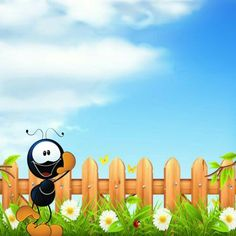 School Border, Boarders And Frames, Ants, Wallpaper Backgrounds, Ideas Para, Activities For Kids, Snoopy, Clip Art, Cartoon