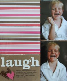 Love the trend of using regular photo pockets as a scrapbook base.  So totally easy!